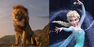 El Rey León Frozen