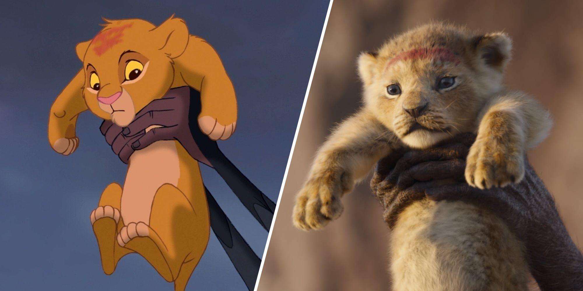 'El Rey León': diferencias entre el remake y el clásico animado