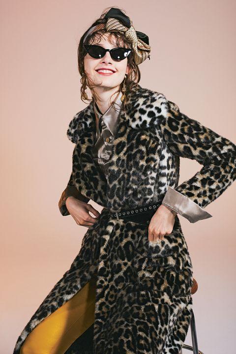 Clothing, Fashion model, Eyewear, Fashion, Dress, Fashion design, Outerwear, Sunglasses, Glasses, Style,