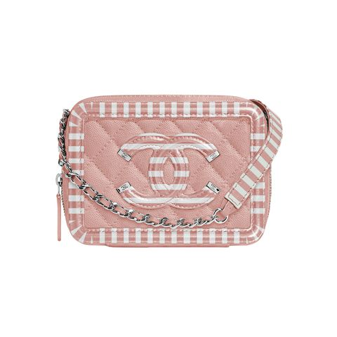 Pink, Bag, Coin purse, Fashion accessory, Beige, Handbag, Wallet, Wristlet, Rectangle, Leather,