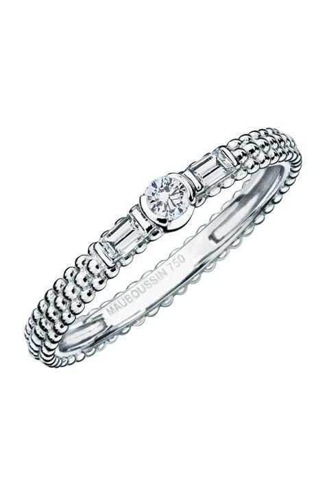 Jewellery, Fashion accessory, Platinum, Ring, Diamond, Engagement ring, Metal, Silver, Bangle, Wedding ring,