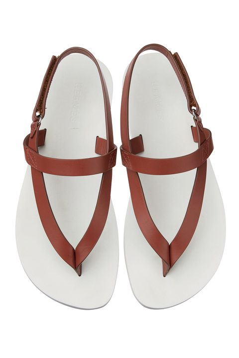 Footwear, Shoe, Brown, Tan, Sandal, Slingback, Mary jane, Beige, Leather, Flip-flops,