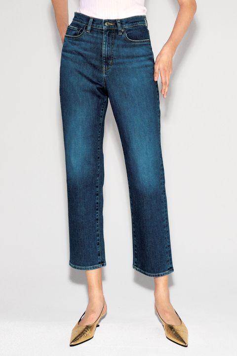 Denim, Clothing, Jeans, Blue, Pocket, Waist, Ankle, Leg, Footwear, Textile,