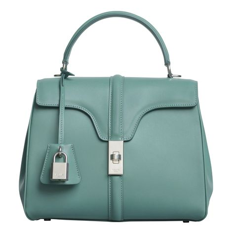 Handbag, Bag, Green, Leather, Fashion accessory, Product, Beauty, Shoulder bag, Fashion, Material property,