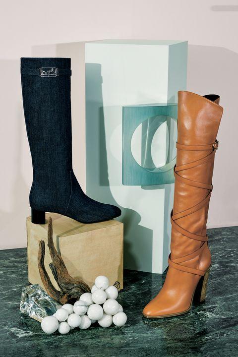 Footwear, Boot, Shoe, Brown, Riding boot, Leg, High heels, Beige, Rain boot, Snow boot,