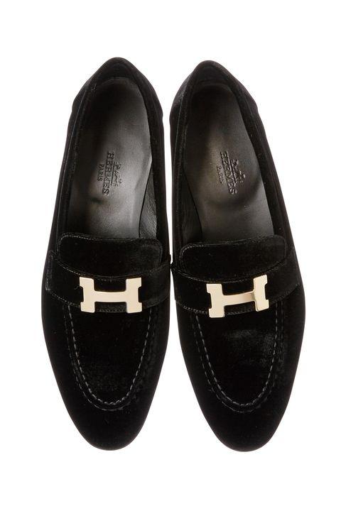 Footwear, Shoe, Black, Product, Mary jane, Leather, Slipper, Suede, Buckle,