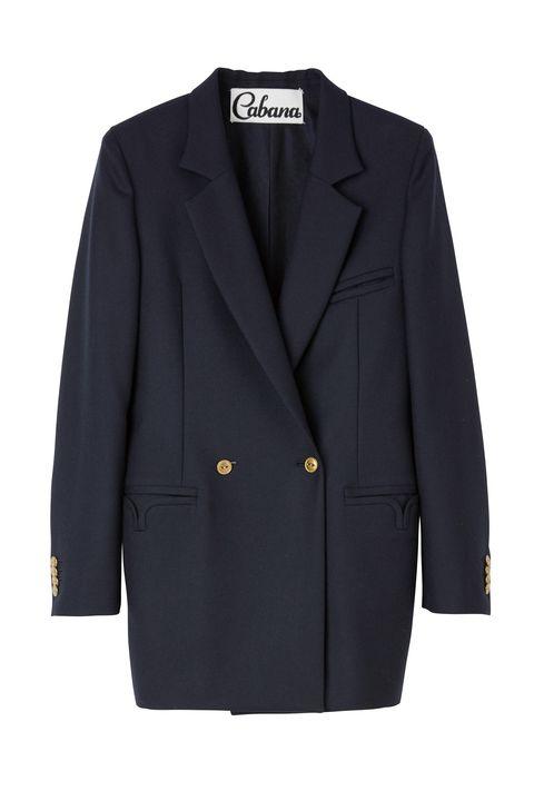 Clothing, Outerwear, Jacket, Blazer, Sleeve, Suit, Button, Coat, Formal wear, Pocket,