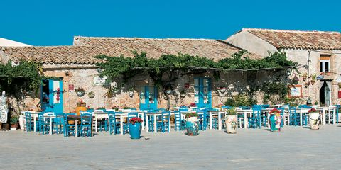 Blue, Town, Sky, Vacation, Public space, Tourism, Turquoise, Building, Architecture, Summer,