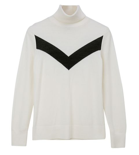 Clothing, White, Sleeve, Neck, Sweater, Outerwear, Beige, Shoulder, Top, Blouse,