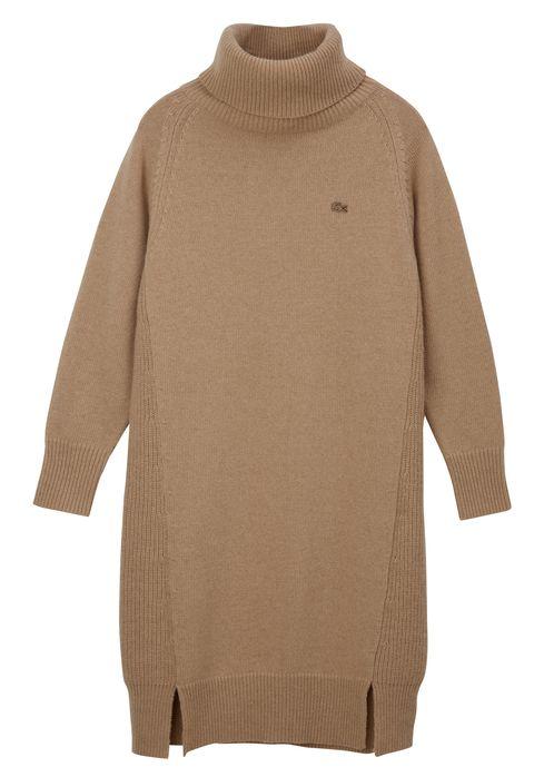 Clothing, Outerwear, Sleeve, Sweater, Beige, Khaki, Jersey, Neck, Wool, Top,