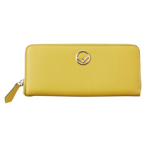 Wallet, Yellow, Coin purse, Fashion accessory, Leather, Rectangle, Handbag, Beige, Material property, Bag,