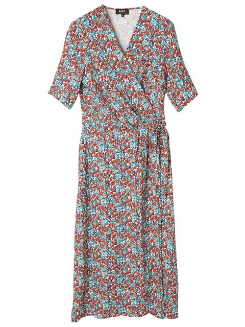 Clothing, Day dress, Dress, Sleeve, Turquoise, Pattern, Pattern, Robe, Nightwear, Cover-up,