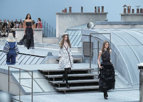 Dress, Fashion, Architecture, Tourism, Stairs, Photography, Suit, Street fashion, Fashion design, Vacation,