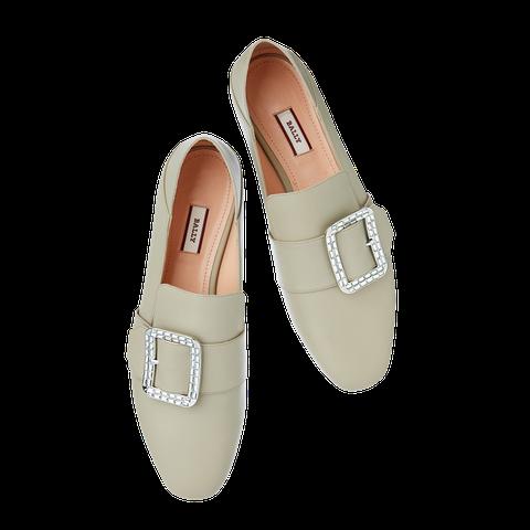 Footwear, Shoe, Beige, Mary jane, Court shoe, Buckle, Slingback,