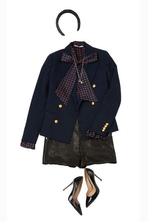 Clothing, Outerwear, Jacket, Coat, Sleeve, Clothes hanger, Overcoat, Denim, Costume, Pattern,