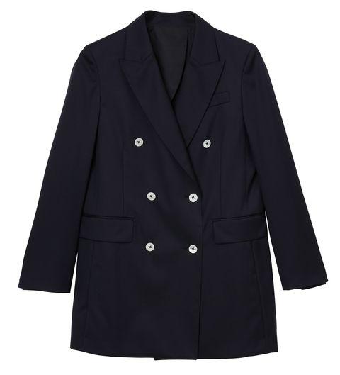 Clothing, Outerwear, Coat, Sleeve, Jacket, Overcoat, Blazer, Collar, Button, Suit,