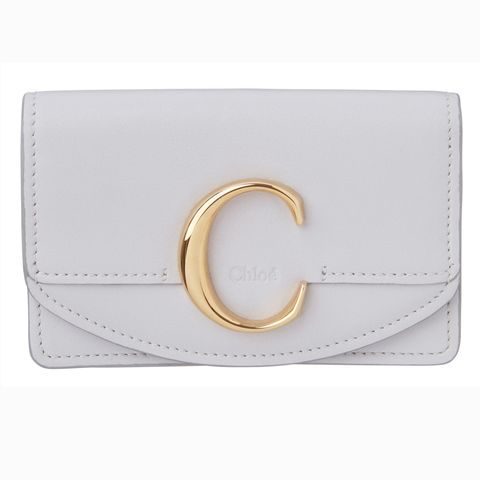Fashion accessory, Wallet, Leather, Bag, Rectangle, Handbag, Beige, Brand, Metal,