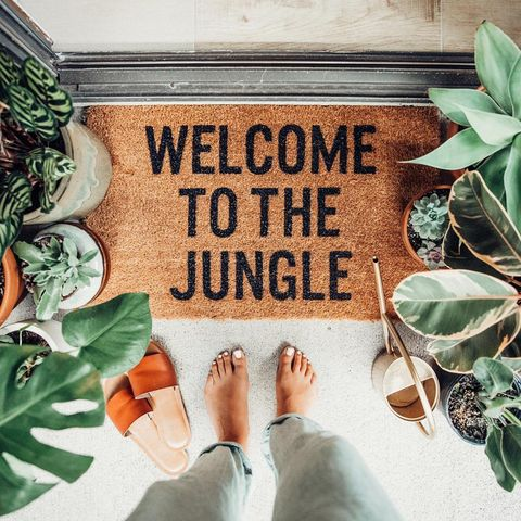 15 felpudos originales para dar la bienvenida a tu casa