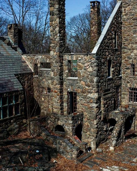 elda castle abandoned