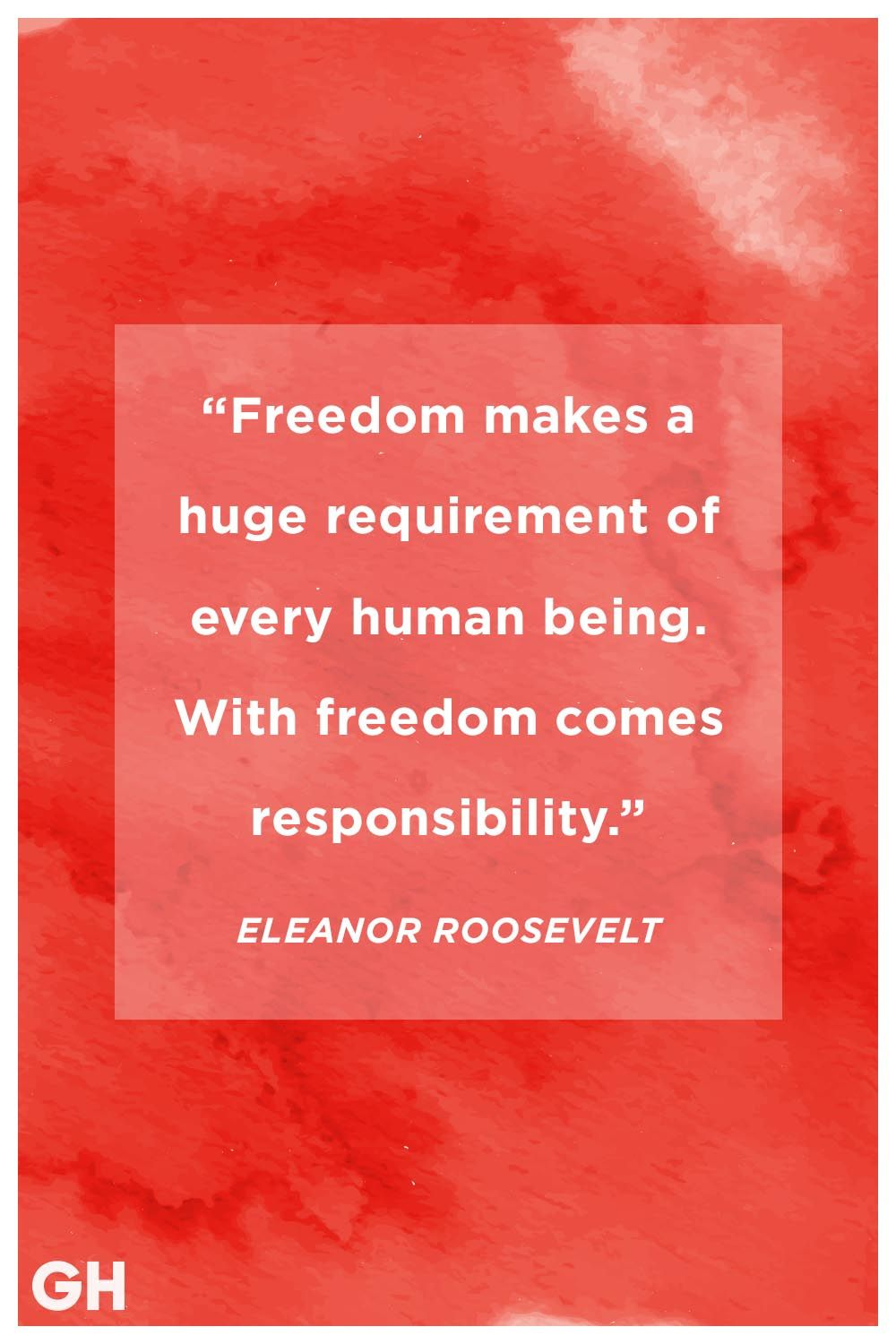 eleanor roosevelt memorial day quote