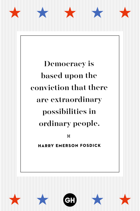 Voting quotes - election quotes - Harry Emerson Fosdick