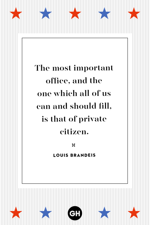 Voting quotes - election quotes - Louis Brandeis