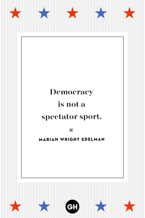 Voting quotes - election quotes - Marian Wright Edelman