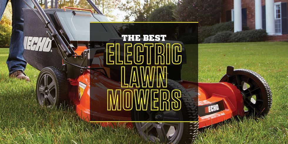 This Fall's Best Electric Lawn Mowers