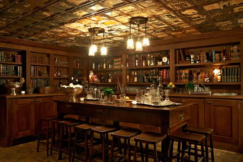 the library bar at electric house