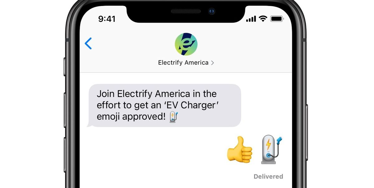 Want an Electric-Car Emoji? VW's Electrify America Has Launched a Petition