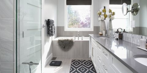 Elegant Modern Home Showcase Interior Bathroom