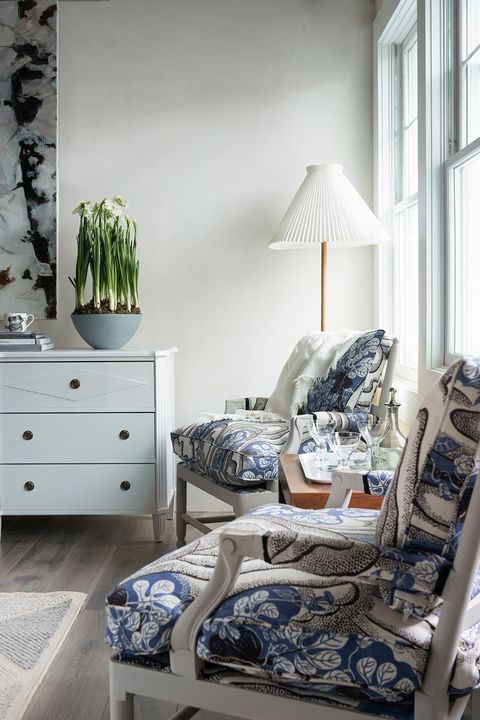 furniture, room, bedroom, blue, interior design, property, chest of drawers, home, bed, house,