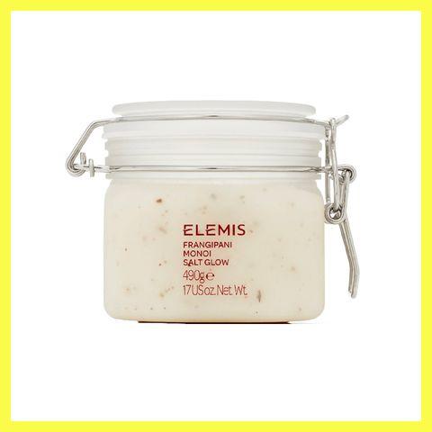 elemis,home frangipani monoi salt glow