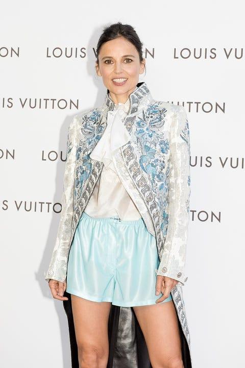 Clothing, White, Fashion model, Fashion, Turquoise, Outerwear, Leg, Footwear, Jacket, Shorts,