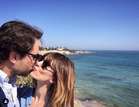 Sky, Love, Vacation, Honeymoon, Eyewear, Beauty, Tourism, Ocean, Selfie, Romance,