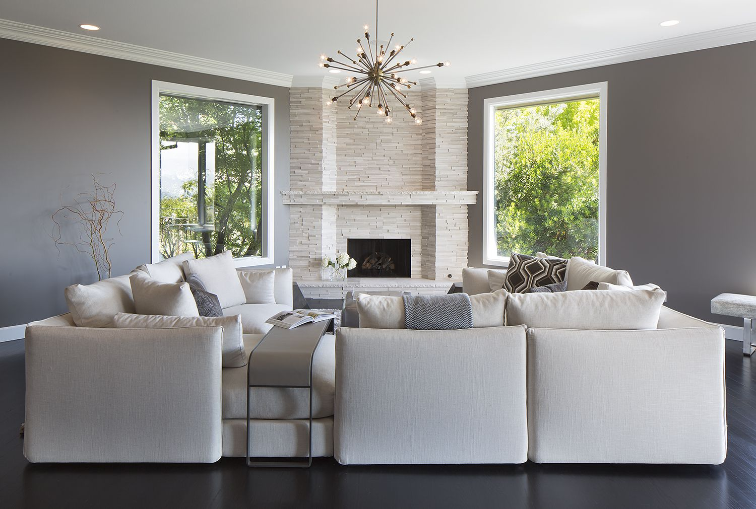 sectional sofas & 40 Sectional Sofas For Every Style Of Living Room Decor - Living ...