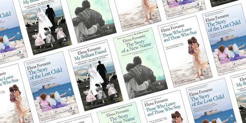Elena Ferrante-Books