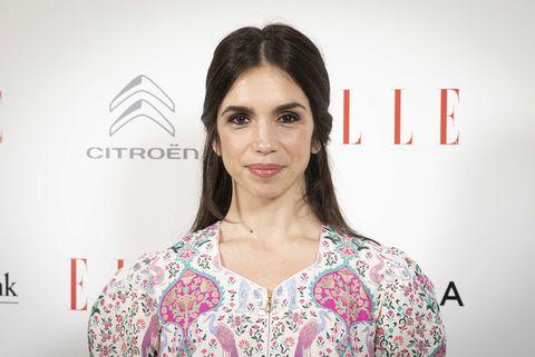 Elena Furiase en el acto organizado por la revista Elle por el Día Internacional de la Mujer