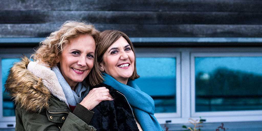 Elena Irureta y Ane Gabarain en 'Patria'