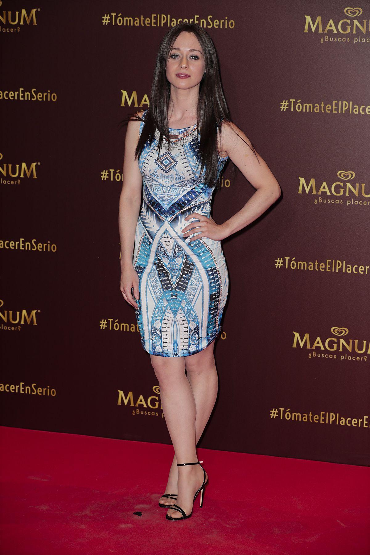 en la fiesta de Magnum en Madrid