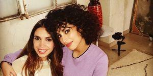 Elena Furiase y Mina El Hammani