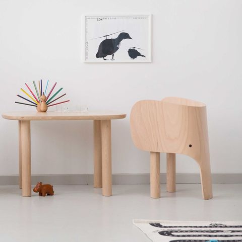 Furniture, Table, Room, Interior design, Desk, Plywood, Wood,