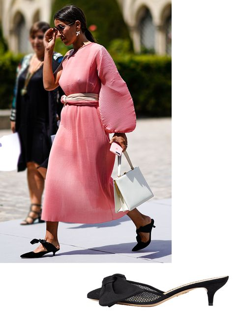 Street fashion, Pink, Fashion, Shoulder, Footwear, Dress, Outerwear, Leg, Shoe, Photography,