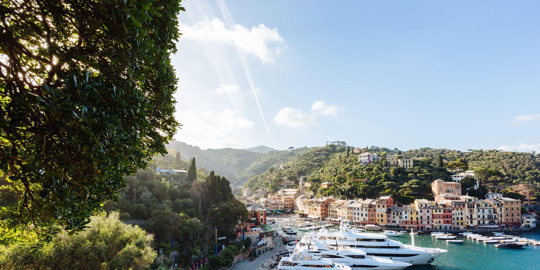 Portofino, itinerario di una casa immaginaria dal giardino alla panic room