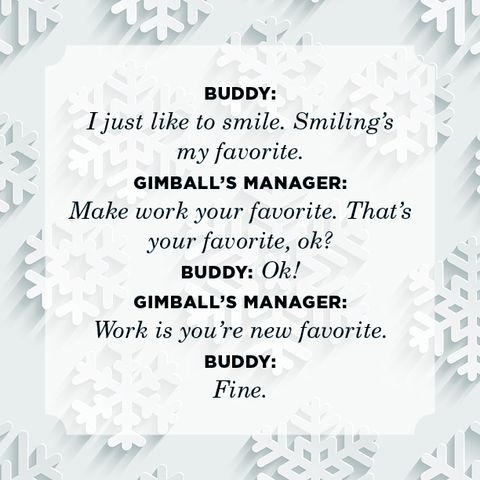 30 Best Elf Movie Quotes - Buddy the Elf Christmas Movie Quotes