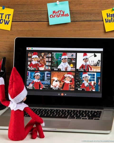 elf on the shelf ideas virtual