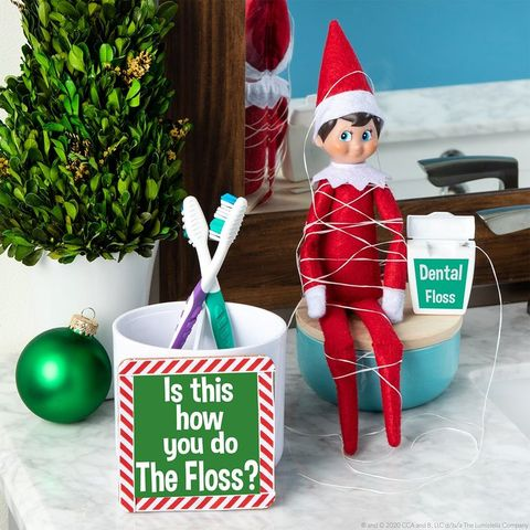 elf on the shelf floss