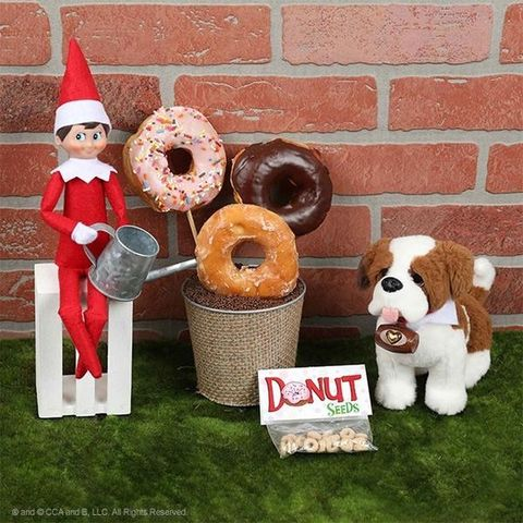 elf on the shelf ideas donuts