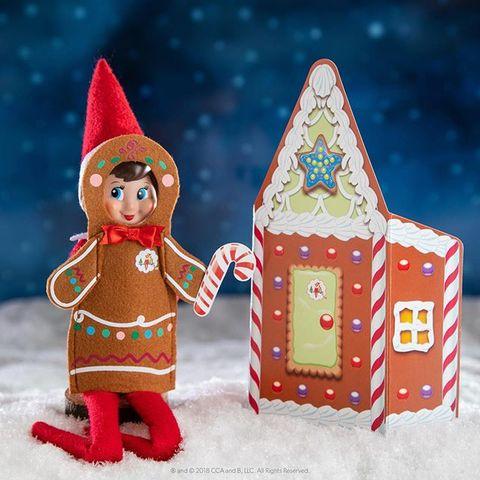 elf on the shelf ideas gingerbread