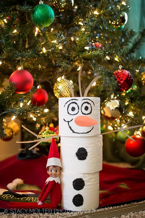 Olaf Elf on the Shelf Ideas